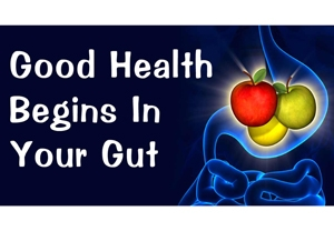 Good Health begins in your Gut